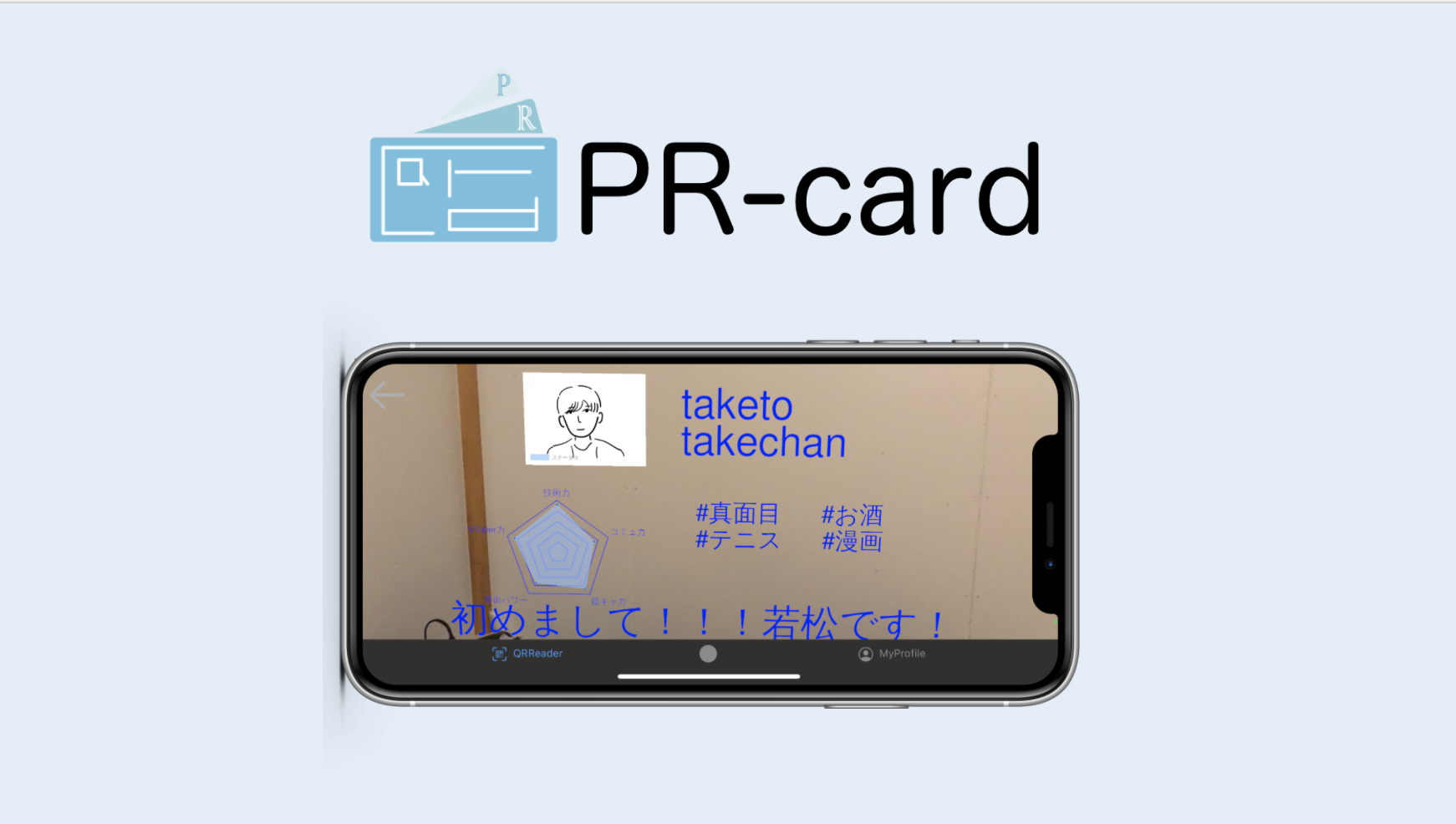 PR-card